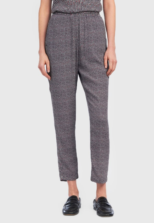 SIENNA - Trousers - anthracite