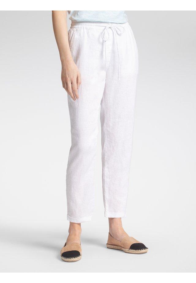 Trousers - weiãŸ