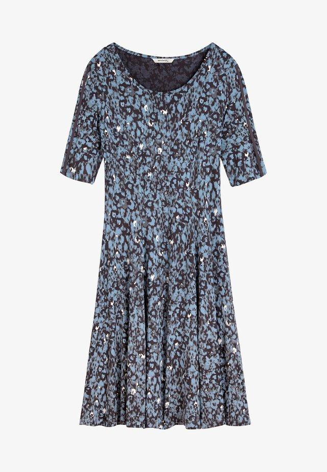 MIT GRAFISCHEM PRINT - Day dress - blau