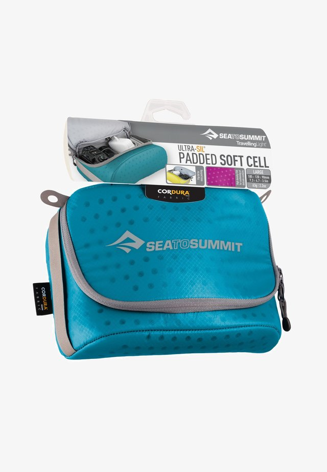 PADDED SOFT CELL LARGE - Travel accessory - blue / grey