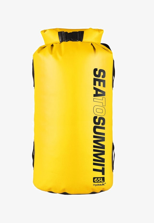 HYDRAULIC DRY PACK WITH HARNESS 65L - Rucksack - yellow
