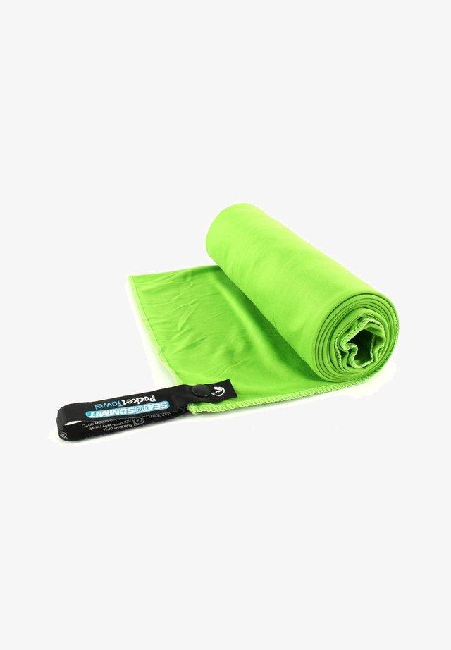 Beach towel - lime