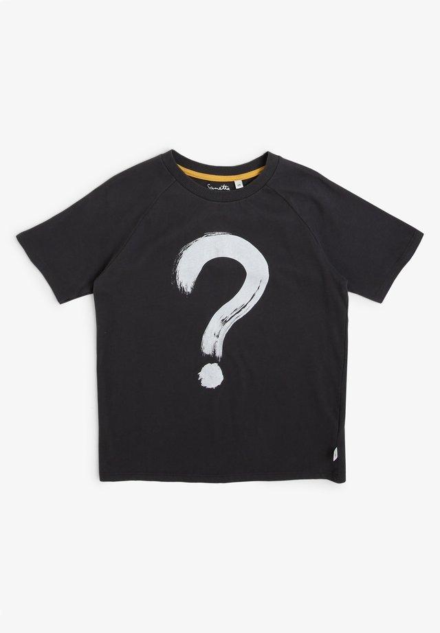 Print T-shirt - anthrazit