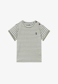 Sanetta - BABY  - T-shirt med print - powder green - 2