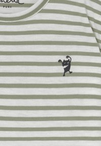 Sanetta - BABY  - T-shirt med print - powder green - 3