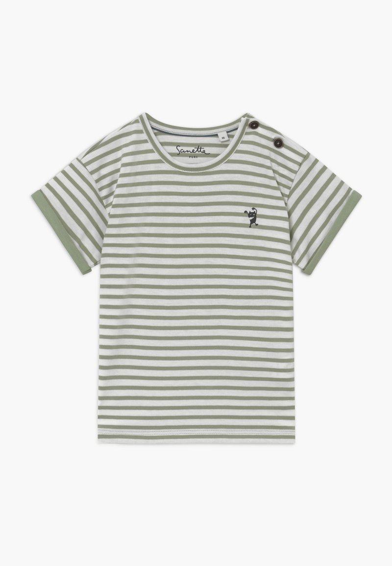 Sanetta - BABY  - T-shirt med print - powder green