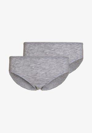 2 PACK  - Kalhotky/slipy - hellgrau melange