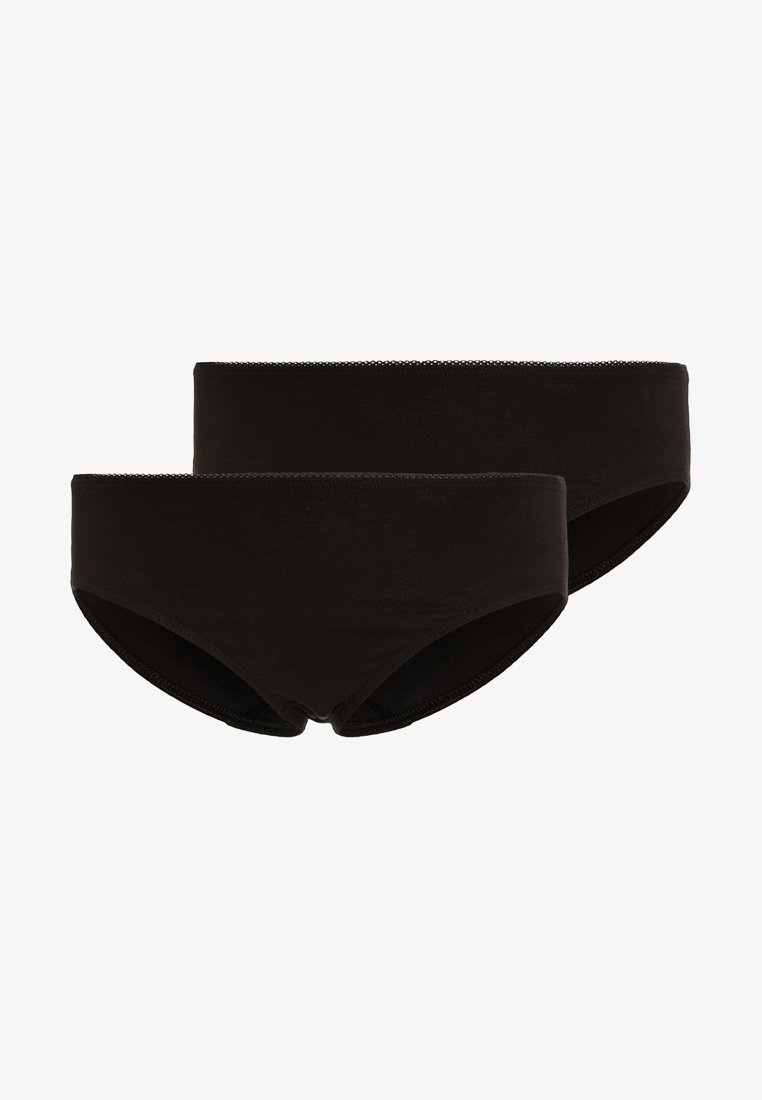 Sanetta - 2 PACK - Trusser - super black
