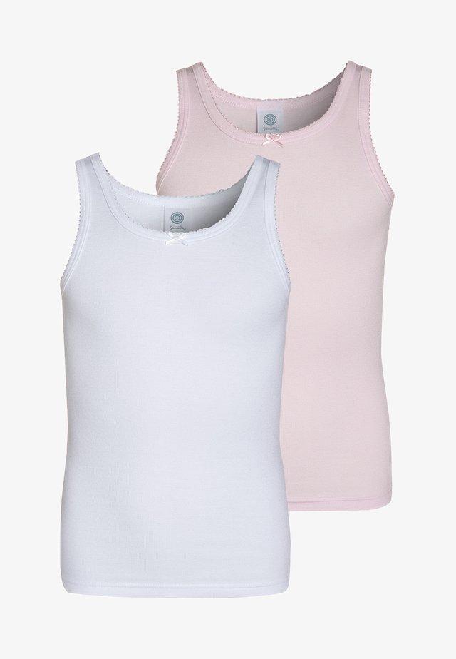 2 PACK  - Unterhemd/-shirt - magnolie