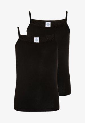 2 PACK - Undershirt - super black