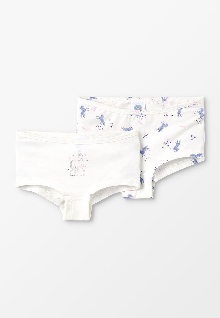 Sanetta - CUTBRIEF  2 PACK - Culotte - broken white