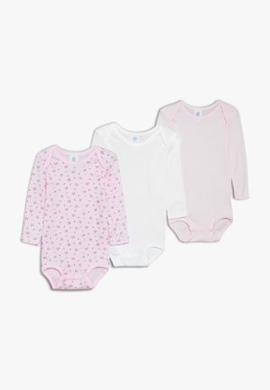 GIRLS  3 Pack - Body - magnolie