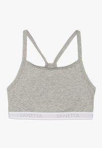 Sanetta - 2 PACK - Bustier - silver melange - 2
