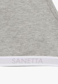 Sanetta - 2 PACK - Bustier - silver melange - 4