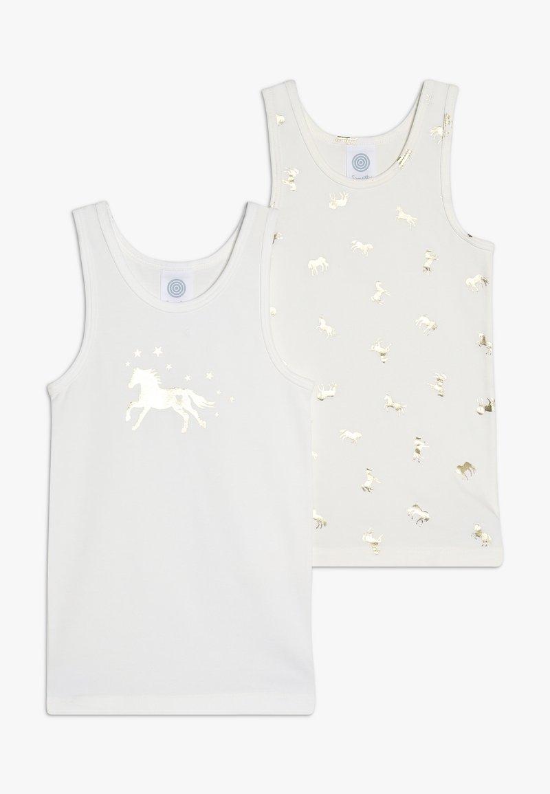Sanetta - 2 PACK - Undershirt - broken white
