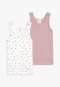 Sanetta - 2 PACK - Unterhemd/-shirt - broken white - 0