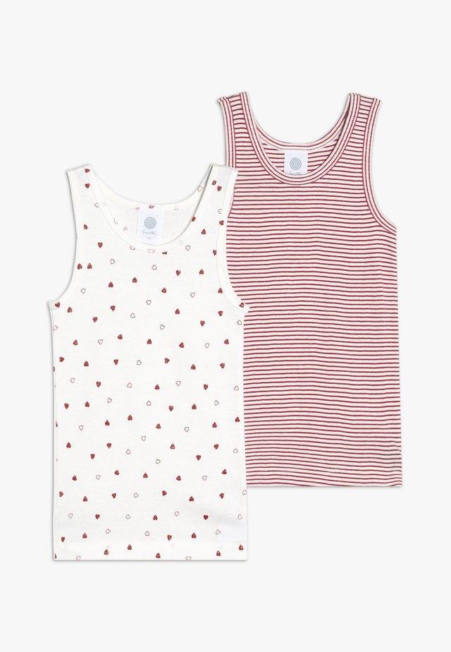 2 PACK - Unterhemd/-shirt - broken white