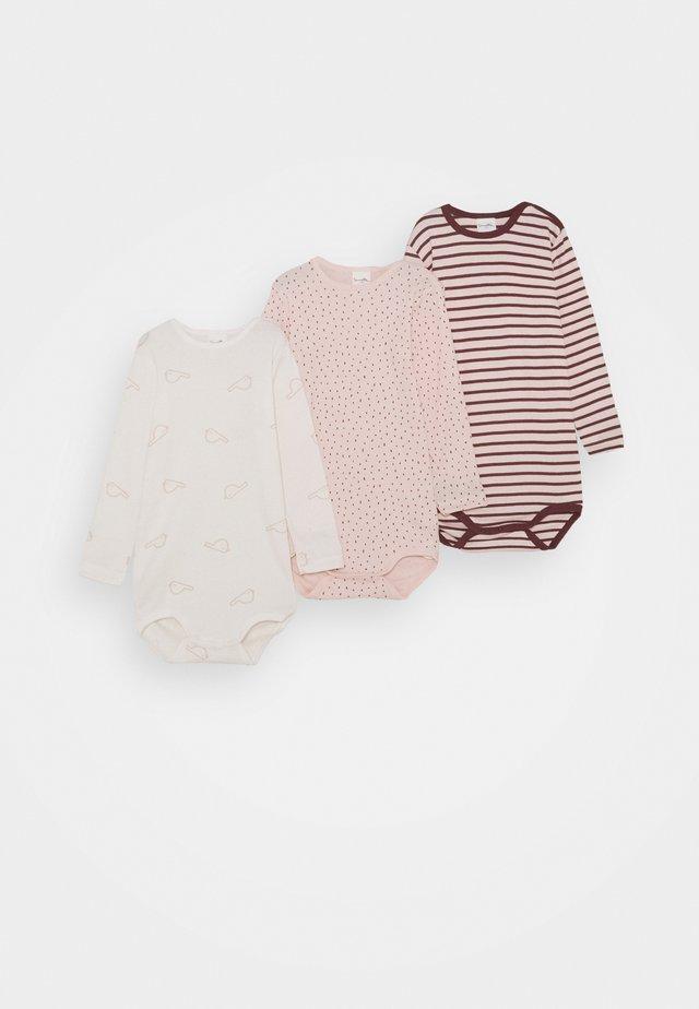 LONGSLEEVE MULTIPACK BABY 3 PACK - Body - rose blush