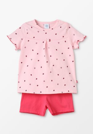 PYJAMA SHORT - Pyžamová sada - pink rose