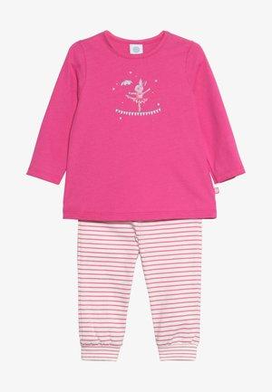 PYJAMA LONG BABY - Yöasusetti - raspberry rose