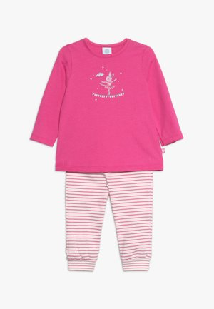 PYJAMA LONG BABY - Pyžamová sada - raspberry rose