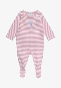Sanetta - OVERALL LONG STRIPE BABY - Pyžamo - raspberry rose - 2