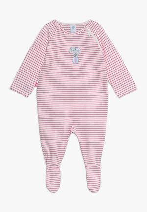OVERALL LONG STRIPE BABY - Pyžamo - raspberry rose