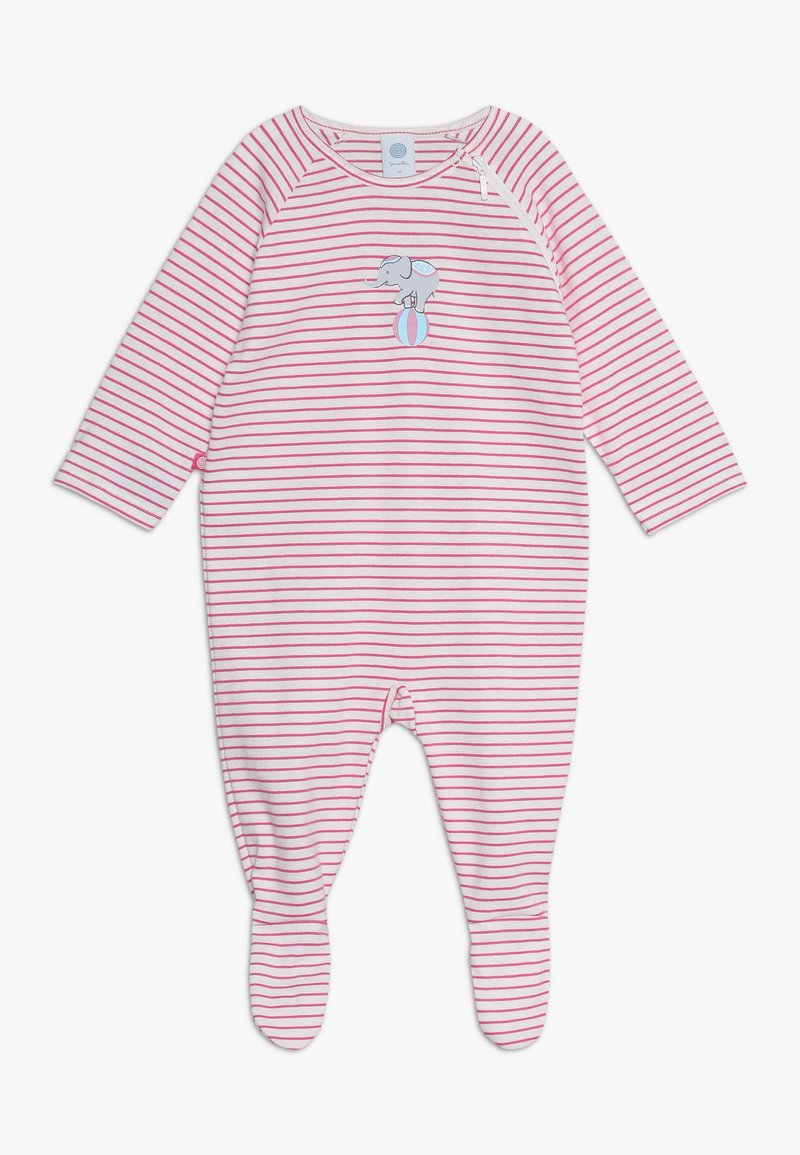 Sanetta - OVERALL LONG STRIPE BABY - Pyžamo - raspberry rose