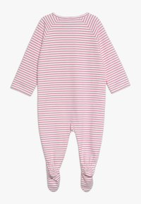 Sanetta - OVERALL LONG STRIPE BABY - Pyžamo - raspberry rose - 1