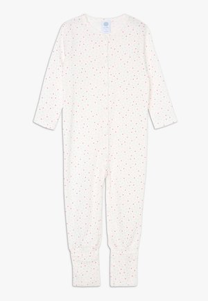OVERALL LONG ALLOVER BABY - Pyjamas - broken white