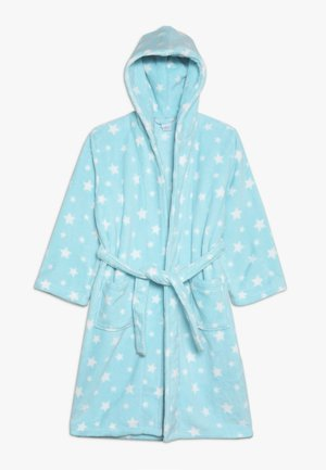 BATHROBE ALLOVER - Badekåpe - blue