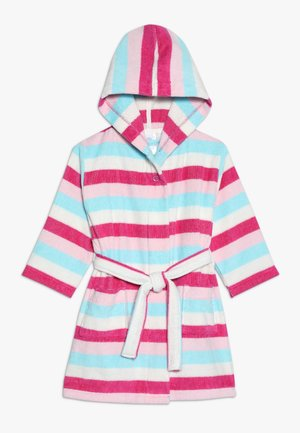 BATHROBE STRIPE - Badekåpe - raspberry rose