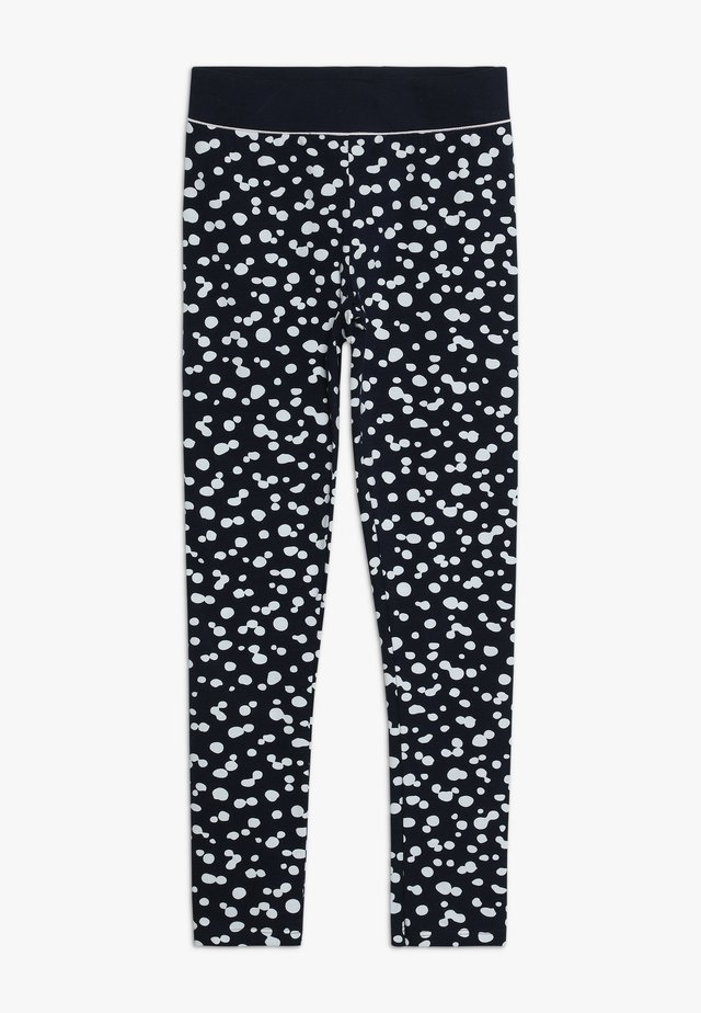ALLOVER - Leggings - Hosen - navy