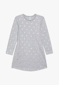 Sanetta - SLEEPSHIRT ALLOVER - Noční košile - hellgrau melange - 0