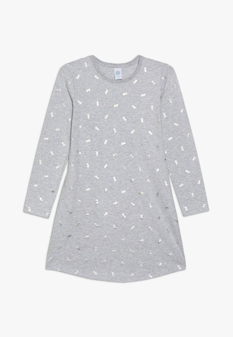 Sanetta - SLEEPSHIRT ALLOVER - Noční košile - hellgrau melange