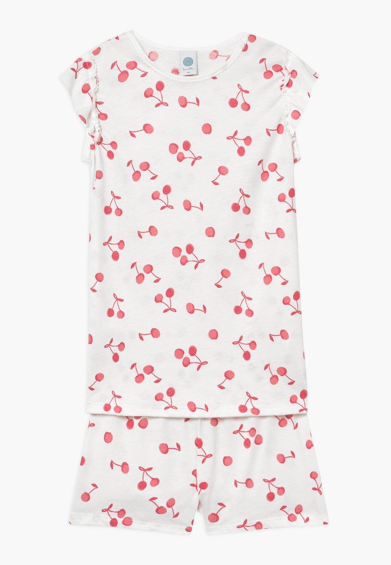 Sanetta - SHORT ALLOVER - Pijama - broken white