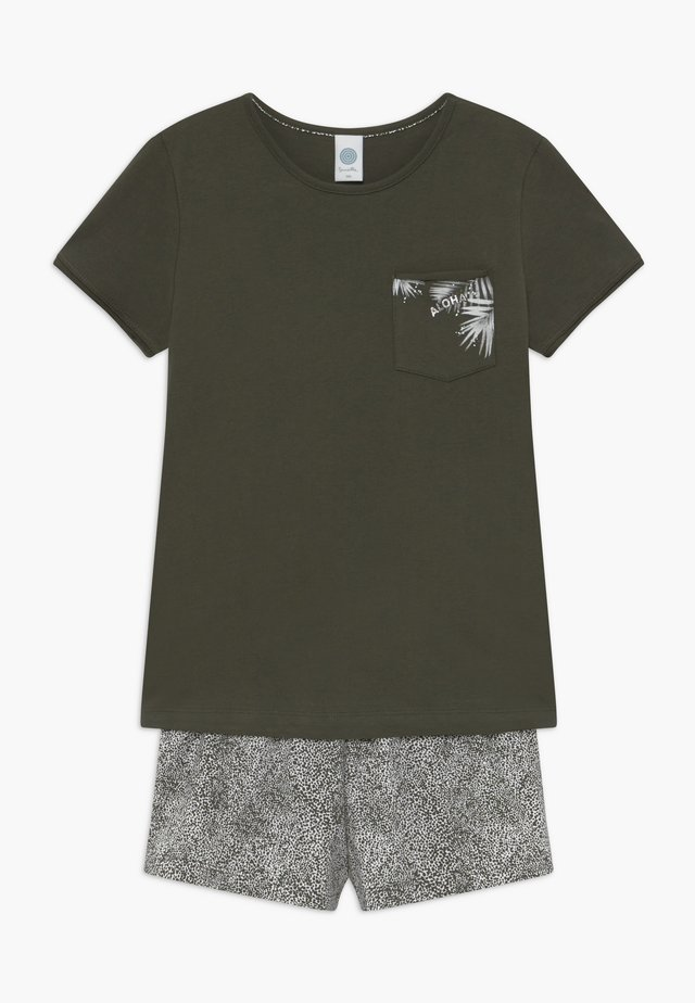Pyžamová sada - deep khaki