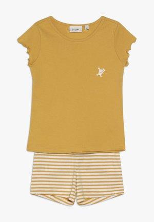 PYJAMA SHORT - Pijama - yellow