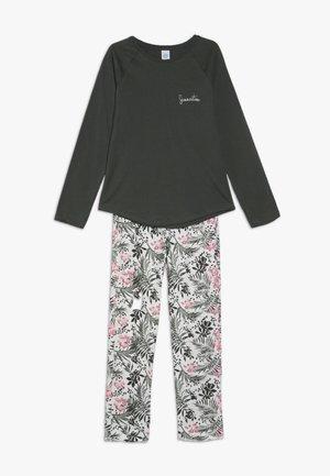 PYJAMA LONG - Pyžamová sada - deep khaki