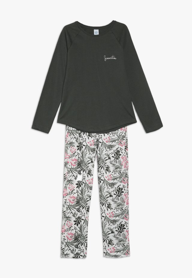 PYJAMA LONG - Pyjama - deep khaki