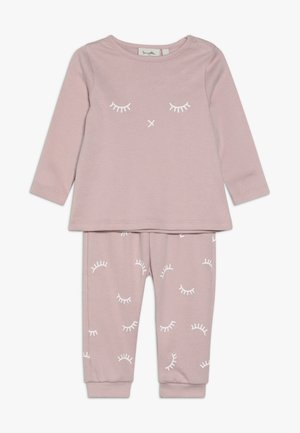 LONG BABY SET - Pyžamová sada - rose
