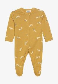 Sanetta - OVERALL ALLOVER BABY ZGREEN - Pyžamo - yellow - 3