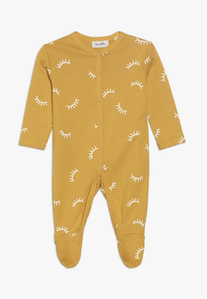 Sanetta - OVERALL ALLOVER BABY ZGREEN - Pyžamo - yellow