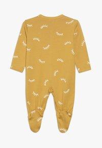 Sanetta - OVERALL ALLOVER BABY ZGREEN - Pyžamo - yellow - 1