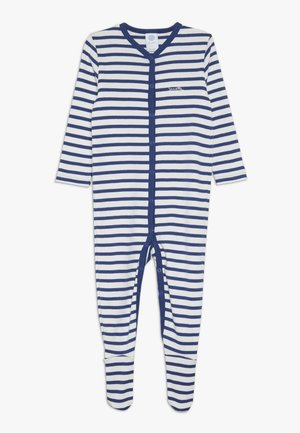 OVERALL STRIPED BABY - Pyjamas - urban blue