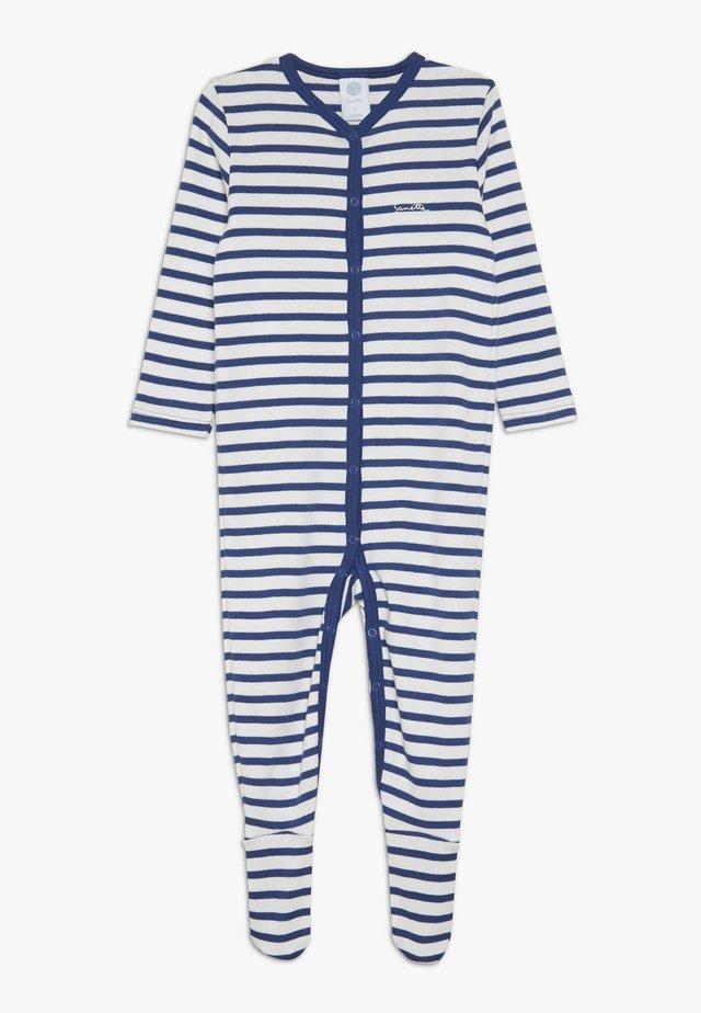 OVERALL STRIPED BABY - Pyjamas - urban blue