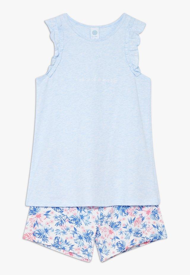 SET - Pyjamas - bleu melange