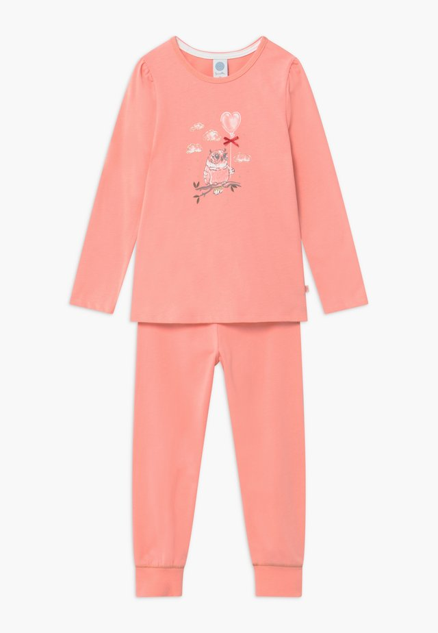 KIDS PYJAMA LONG - Yöasusetti - peach