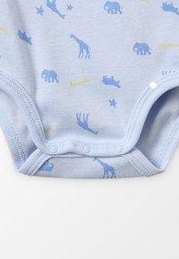Sanetta - WRAPOVER ALLOVER BABY ZGREEN - Body - light blue - 4