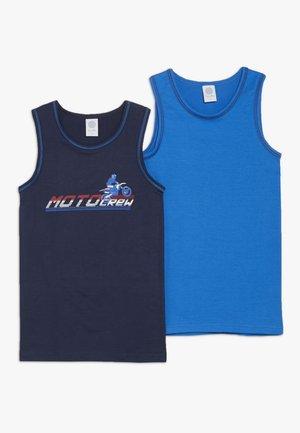 2 PACK - Undershirt - nordic blue